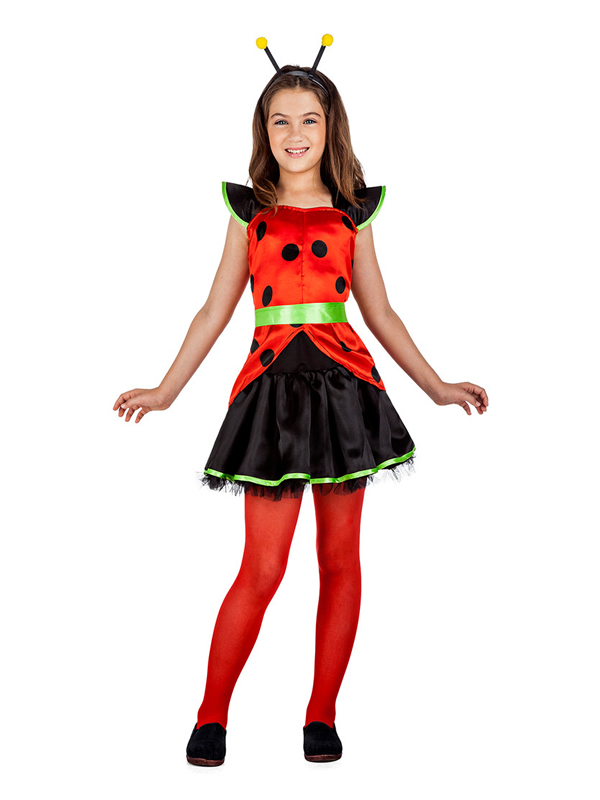 disfraz de lady mariquita niña