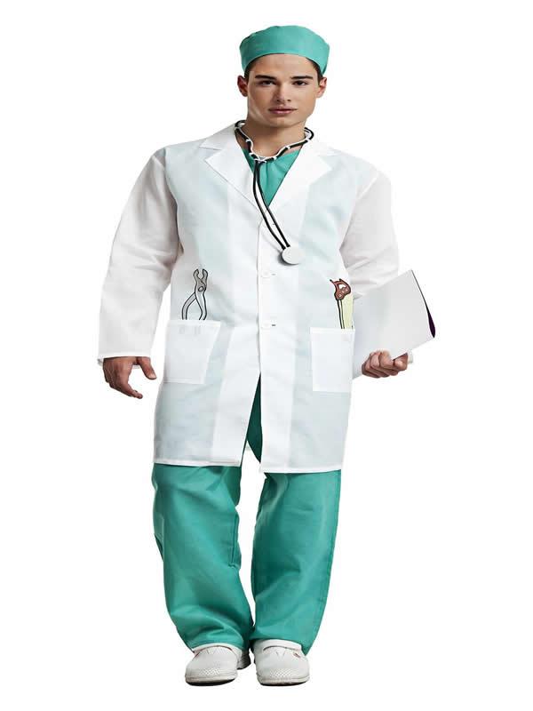 disfraz de medico cirujano hombre