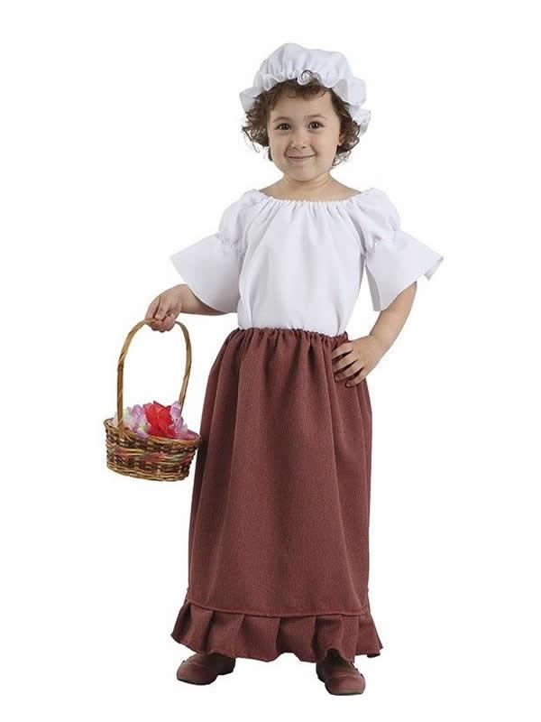 disfraz de medieval para niña