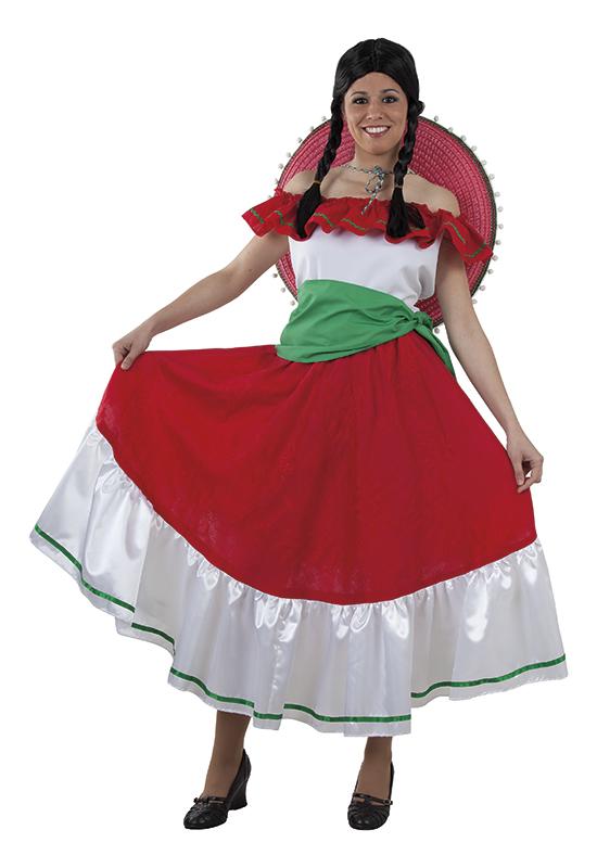 disfraz de mejicana mujer adulto