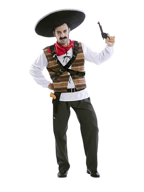 disfraz de mejicano pancho para hombre