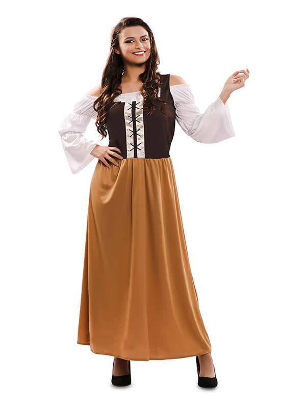 disfraz de mesonera medieval mujer