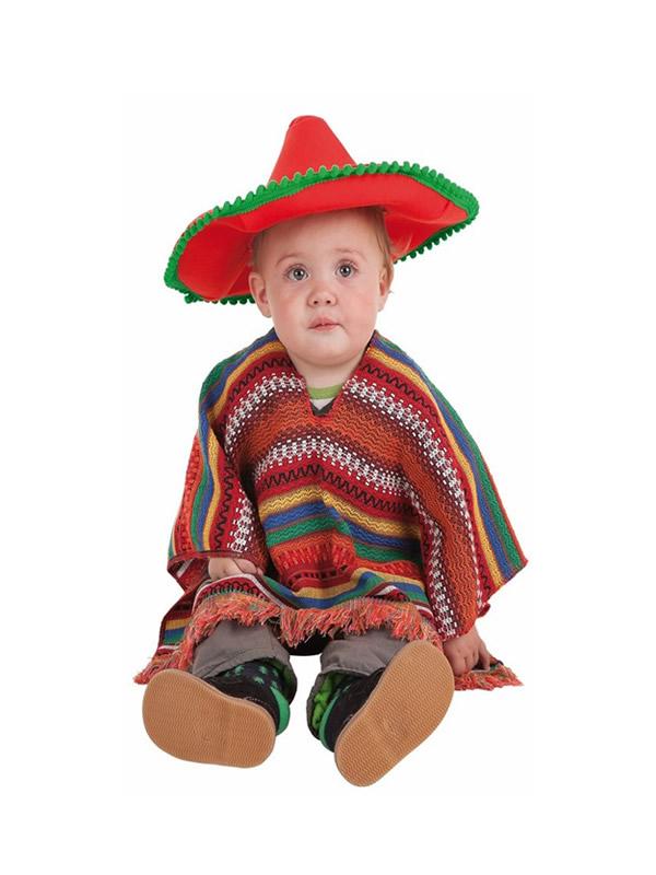disfraz de mexicano para bebe