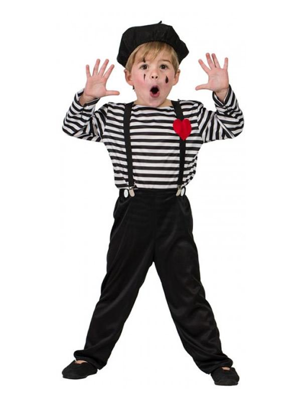 disfraz de mimo para nino K5535 - Las Mejores Ideas para Regalar Disfraces Infantiles en Navidades