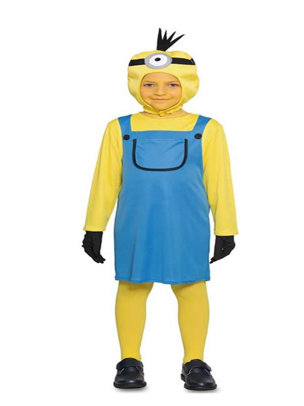 disfraz de minions para niña