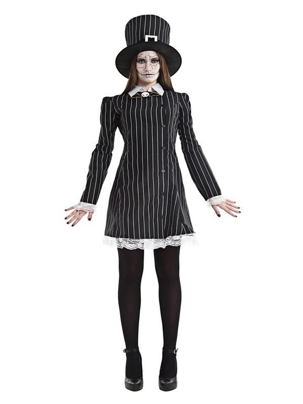 disfraz de miss grimbone para mujer