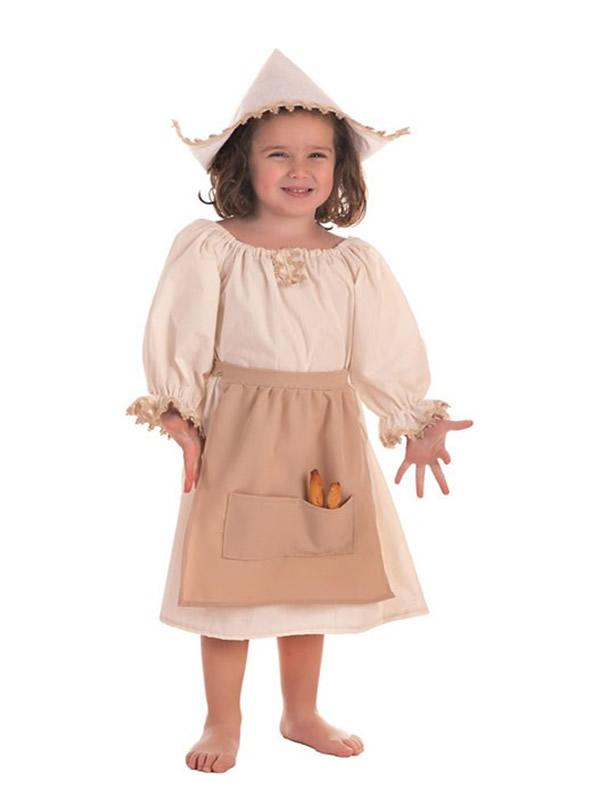 disfraz de molinera para niña