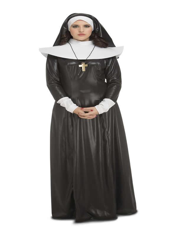 disfraz de monja superior mujer