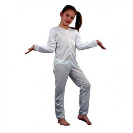 disfraz mono blanco de punto infantil