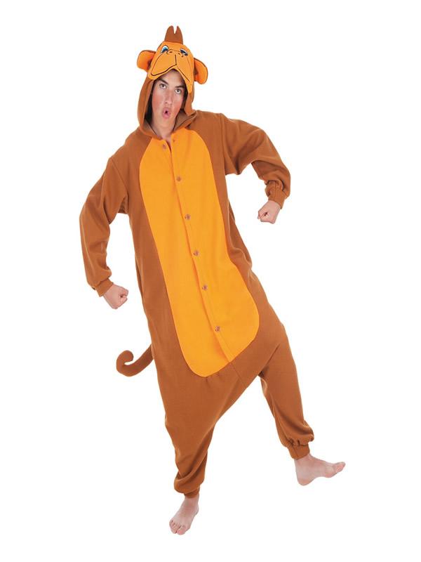 disfraz de mono divertido para adultos