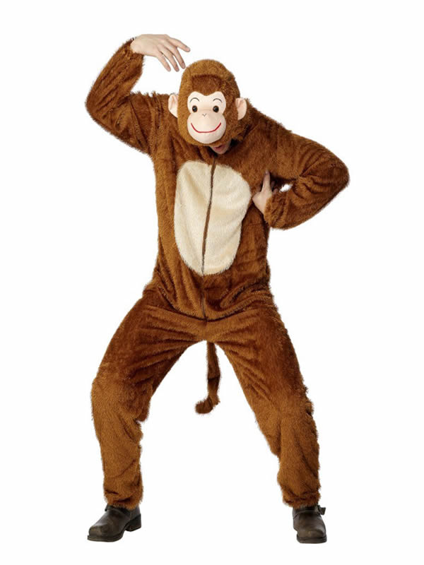 disfraz de mono para hombre adulto