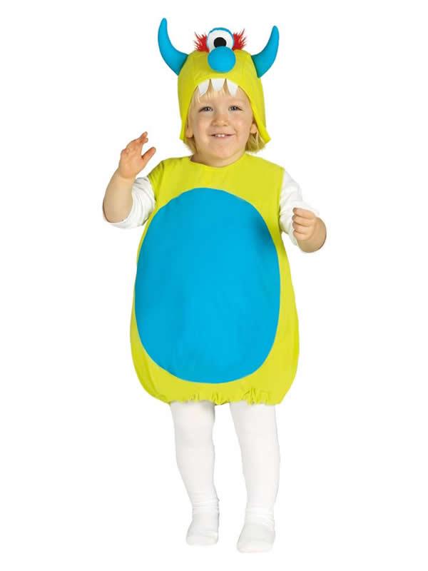 disfraz de monstruito bebe
