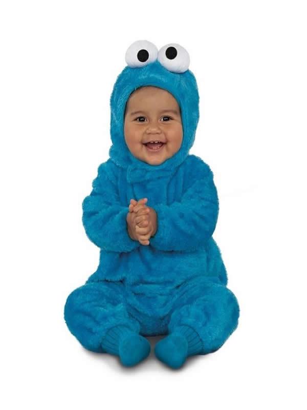 disfraz de monstruo de las galletas basico bebe