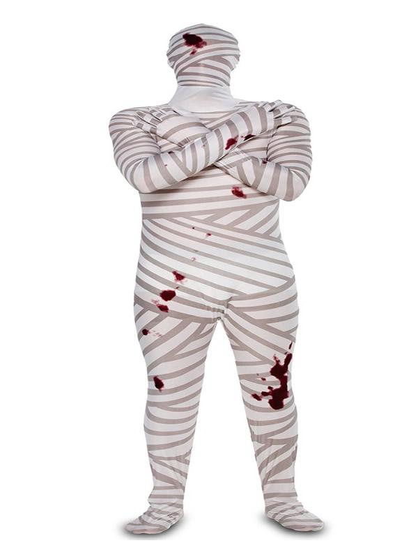 disfraz de morphsuits momia para hombre