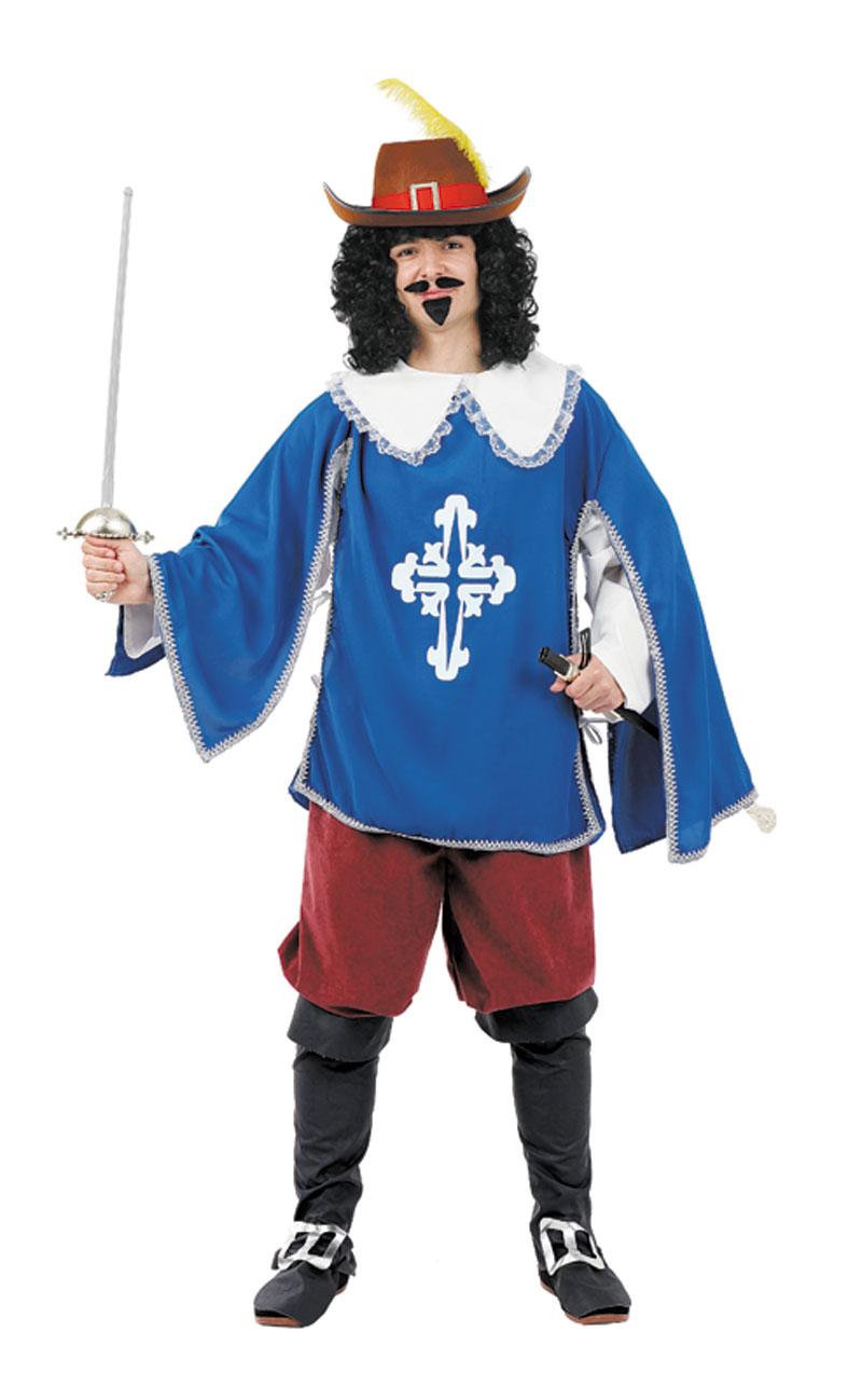 disfraz de mosquetero lujo para hombre talla xl fy1588 - Día internacional de los Mosqueteros
