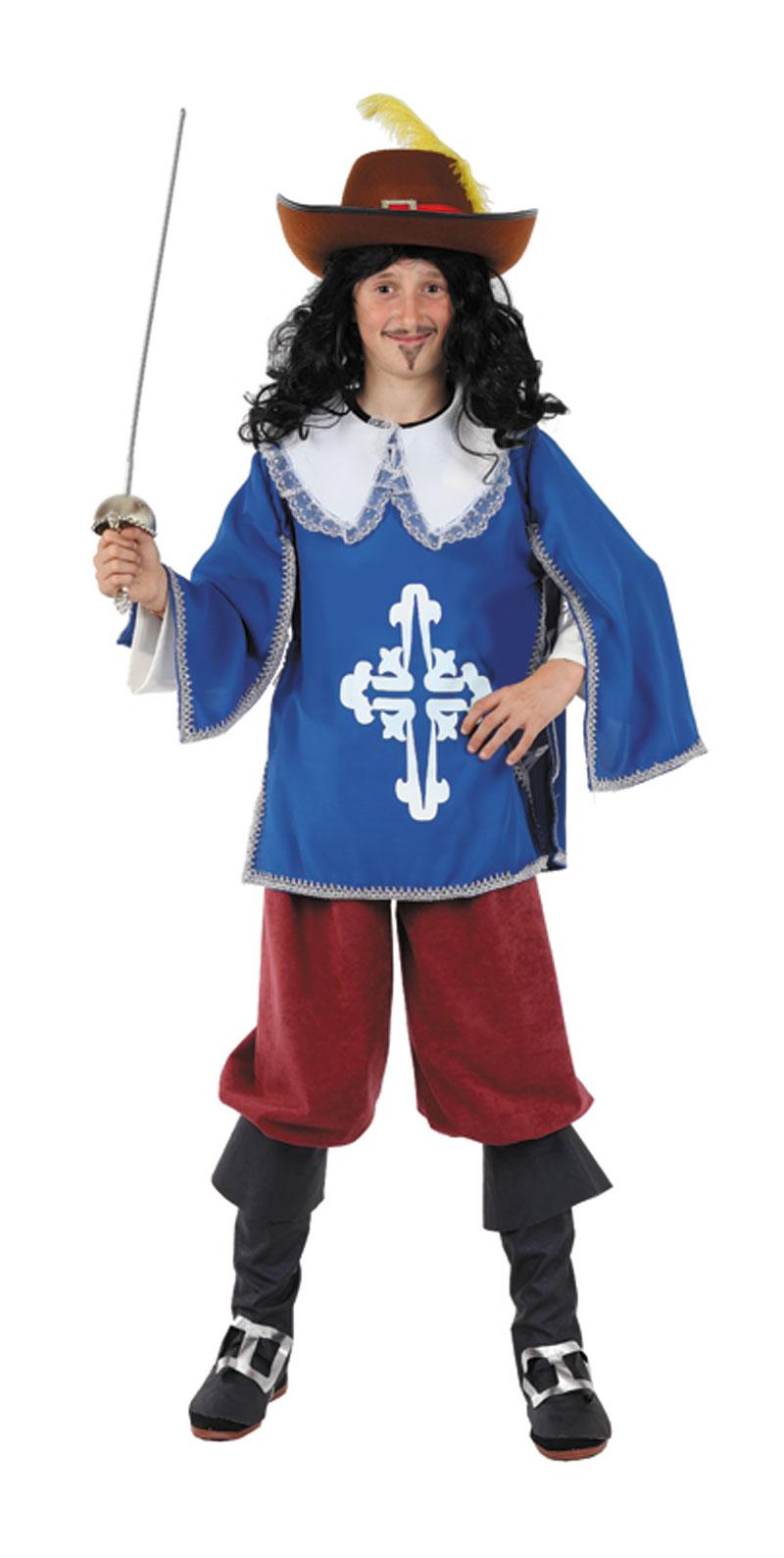 disfraz de mosquetero para nino infantil 7 a 9 anos fy1311 - Día internacional de los Mosqueteros