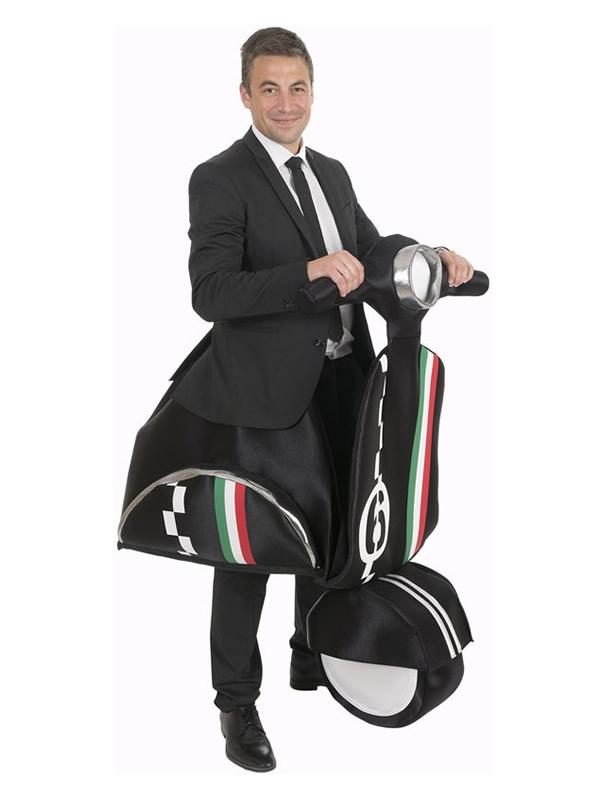 disfraz de moto vespa para hombre