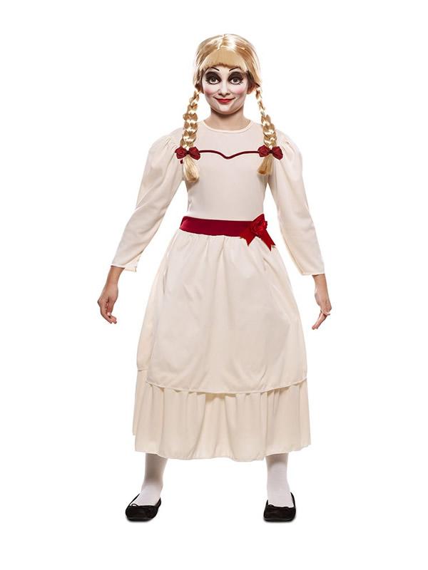 disfraz de muñeca annabel para niña