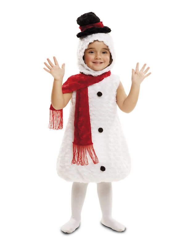 disfraz de muñeco nieve peluche infantil