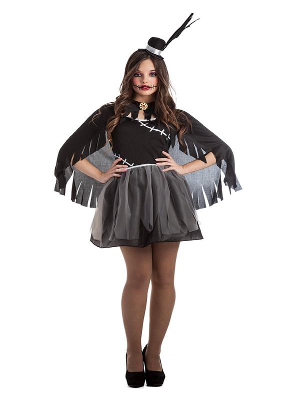 disfraz de cuervo mujer