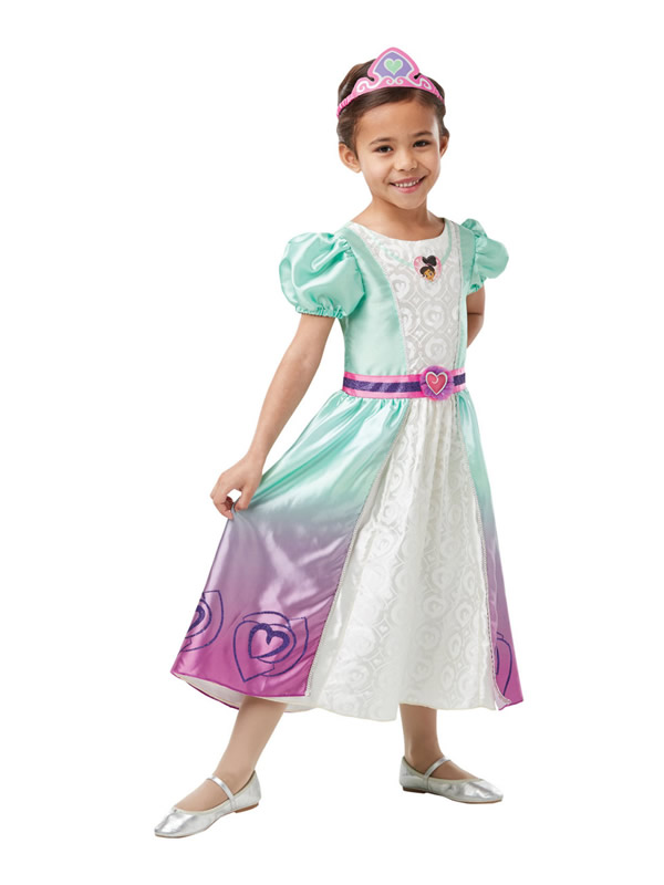 disfraz de nella deluxe una princesa valiente para niña