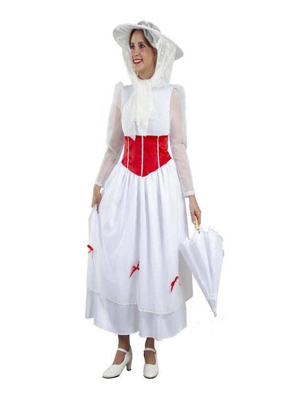 disfraz de niñera mary poppins mujer