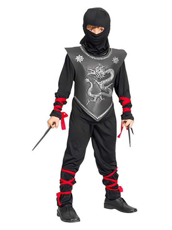 disfraz de ninja dragon para niño