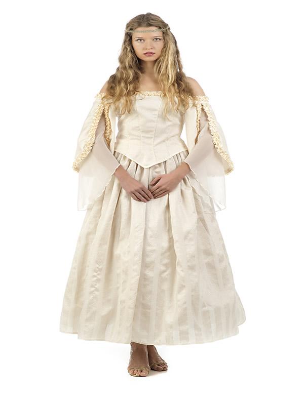 disfraz de novia medieval elvira para mujer