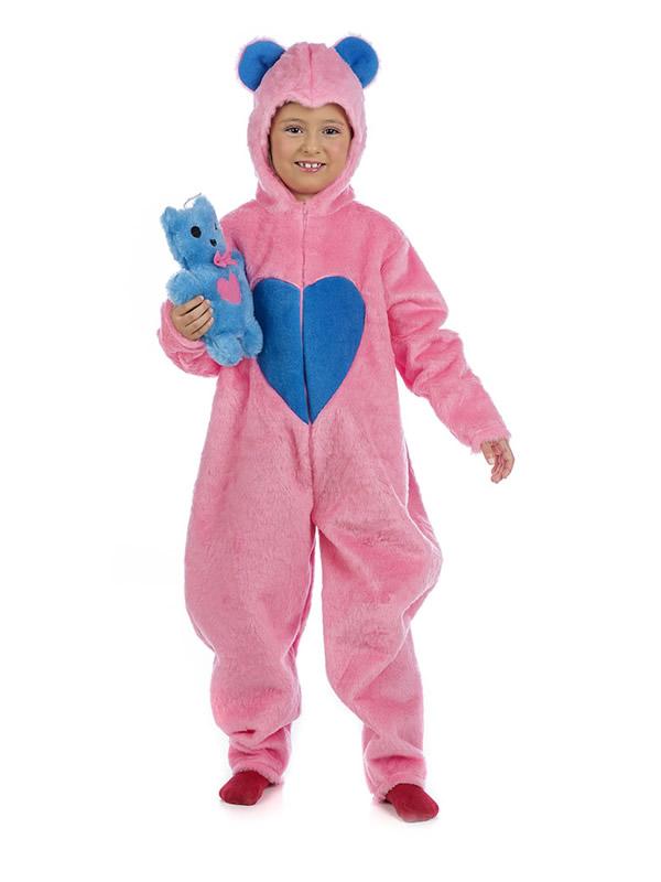 disfraz de oso amoroso rosa nina MI098 - Los 10 mejores Disfraces de Animales para tu Fiestas
