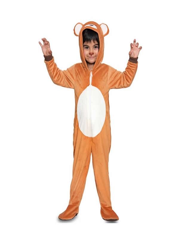 disfraz de oso marron para niño