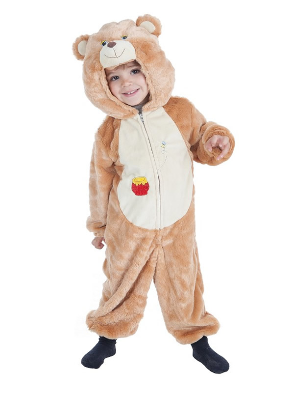 disfraz de oso miel para infantil