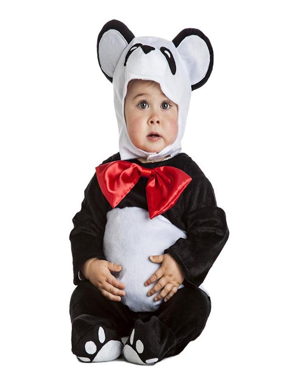 disfraz de oso panda bebe