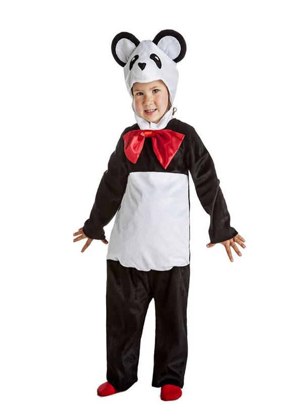 disfraz de oso panda niño