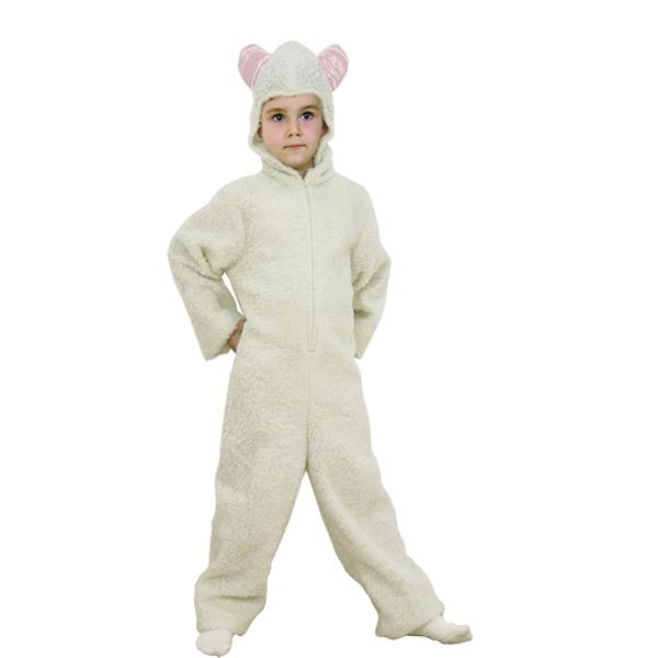 disfraz de oveja blanca infantil