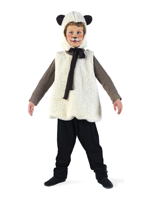disfraz de ovejita para niño