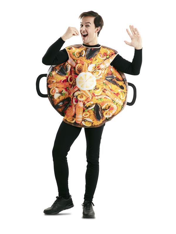 disfraz de paella valenciana para adulto