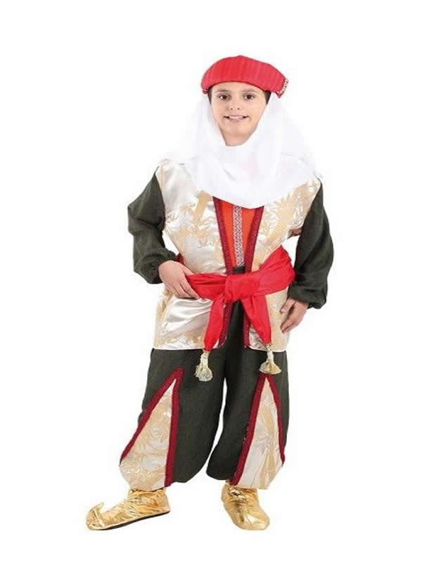 disfraz de paje baltasar niño