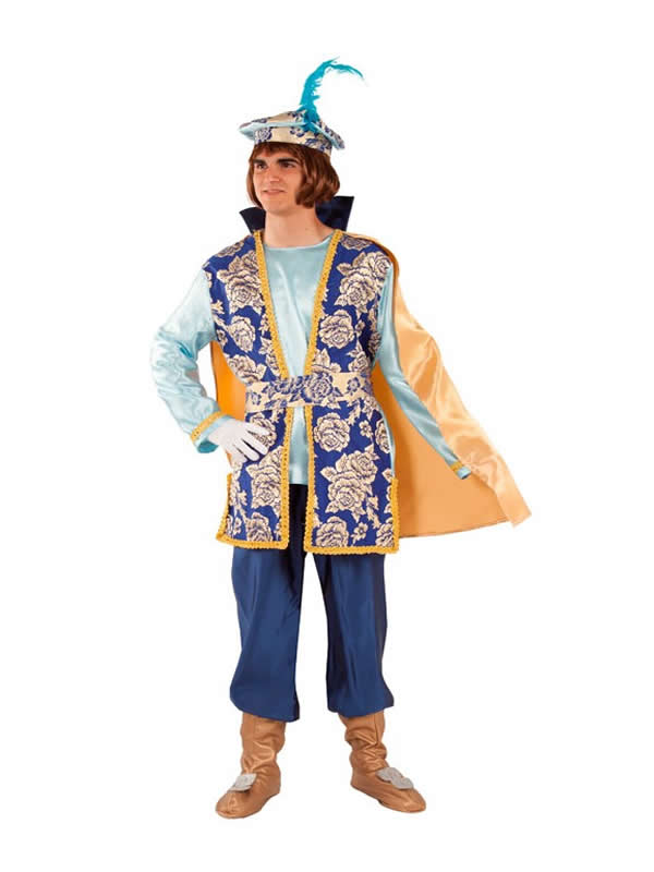 disfraz de paje real gaspar para hombre