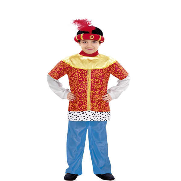 disfraz de paje rey baltasar niño