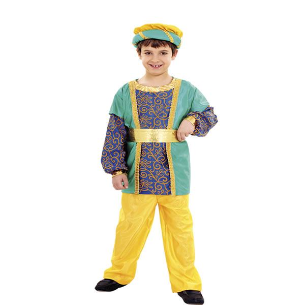 disfraz de paje rey gaspar niño