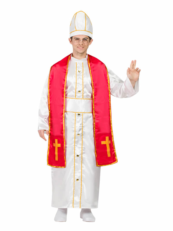 disfraz de papa francisco hombre