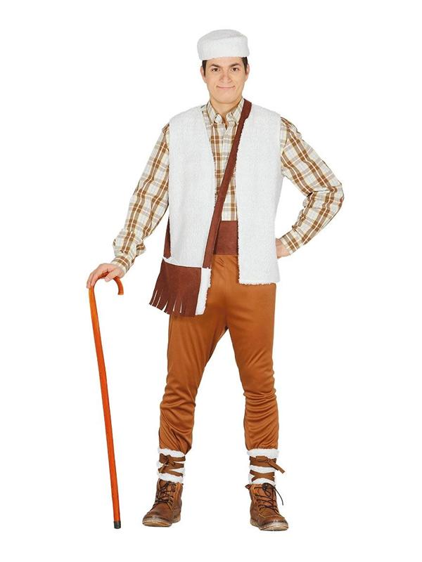 disfraz de pastor barato para hombre