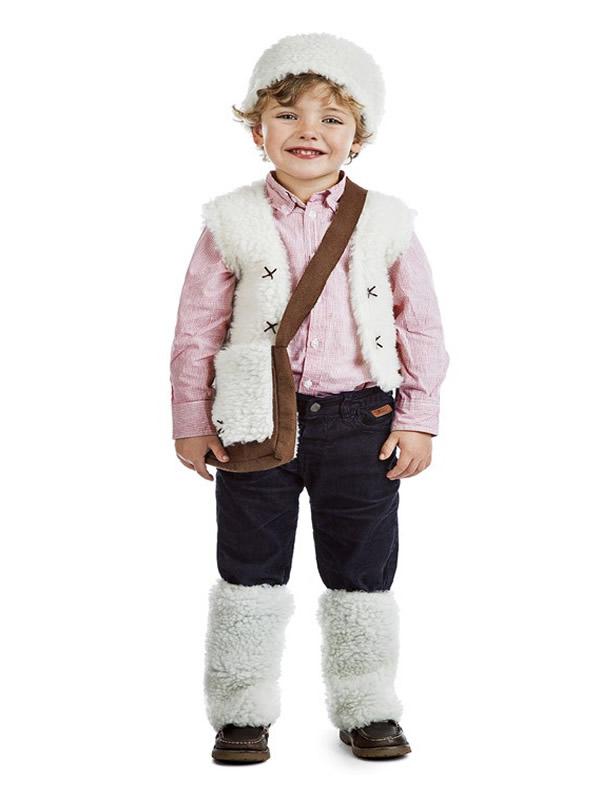 disfraz de pastor de belen para niño