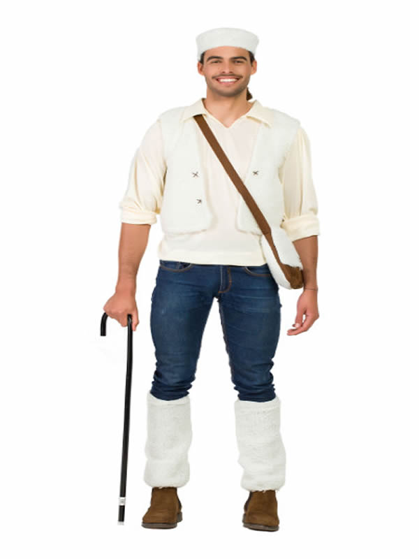 disfraz de pastor para hombre