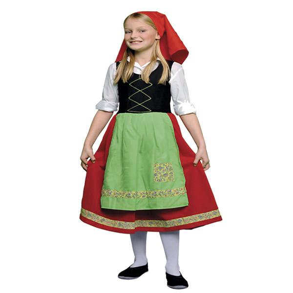 disfraz de pastora verde nina varias tallas egl00334 - Tu Belén Viviente para Navidad