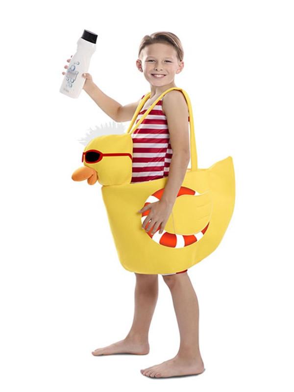 disfraz de patito de ducha para niño