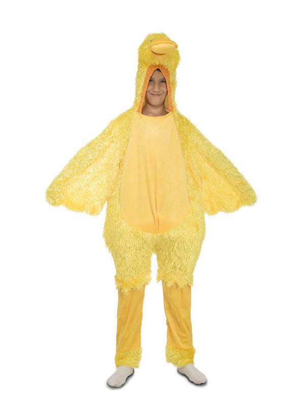 disfraz de pato amarillo para niño