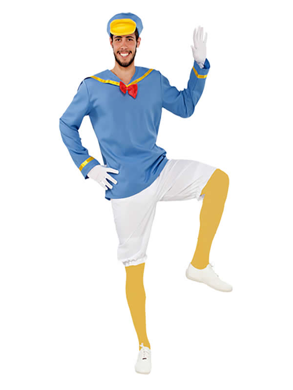 disfraz de pato marinero para hombre