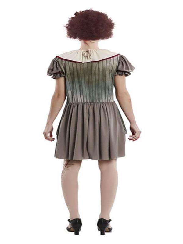 disfraz de payasa del terror para mujer