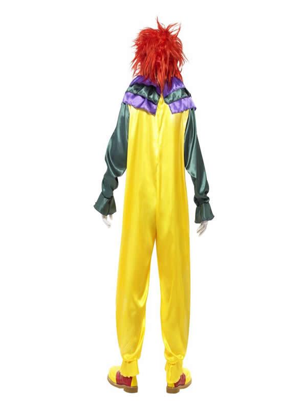 disfraz de payaso clasico terror hombre